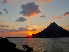 Climber's paradise! Sunset behind Telendos island, Kalymnos, Greece