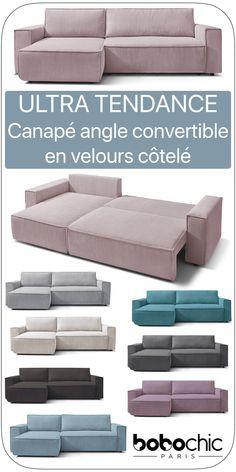 Angles, Canapé Angle Convertible, Sofa, Couch, Parfait, Decoration, Nest, Furniture, Home Decor