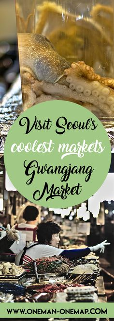 Gwangjang Market is one of the oldest and largest traditional markets in South Korea and the best place to find authentic Korean street food in Seoul. If you want to eat like a local, you don't want to miss Gwangjang Market!