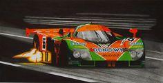 Mazda 787b, Le Mans 1991 winner by Olleandro.deviantart.com on @deviantART