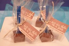 Hot Chocolate Mix on a Stick 4 per order by TheSweetLifeBakeryKy Chocolate Sticks, Hot Chocolate Mix, Semi Sweet Chocolate Chips, Hot Chocolate Recipes, Thanksgiving Care Package, Bakery Box, Food Allergies, Whipped Cream, Xmas Ideas