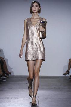 Rose Gold - Nonoo Ready To Wear Spring Summer 2015 New York #NYFW #SS15 #RTW