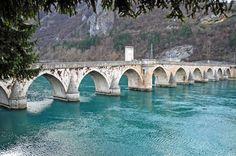 The bridge on the Drina, Visegrad Bosnia and Herzegovina by VladaM #Bosnia #Balkans #bridge