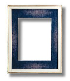 Indigo Dreams Cream with Denim Mat Frame by Aaron Brothers