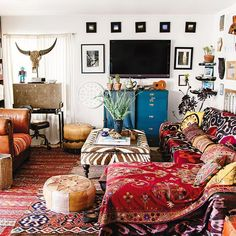 On Creating A Bohemian Paradise (At Home): 4 Tips From Interior Expert Justina Blakeney. | Blog | The Fix