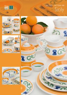 & Caleca Frutta 9-Piece Tea Set Servic... | Dishes u0026 More | Pinterest