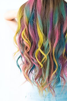 Summer Color: Temporary Colombré Hair | Make: DIY Projects, How-Tos, Electronics, Crafts and Ideas for Makers | MAKE: Craft