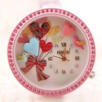 Sweet Heart Love Theme Polymer Clay  Novelty Watch