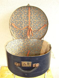 Vintage French Hat Box