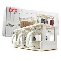 Lock Lock Food Storage Containers 3pc Set Easy Storage Clean Up Seasoning  Case | EBay