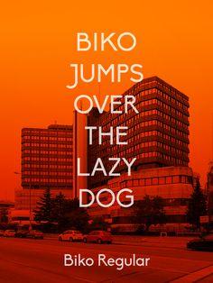 Biko #font   http://www.behance.net/gallery/Biko-Font-Family-Free-Download/8063883