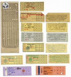 old and new tarm tickets, Budapest Crafts With Pictures, My Childhood Memories, My Memory, Hungary, Budapest, Retro Vintage, Nostalgia