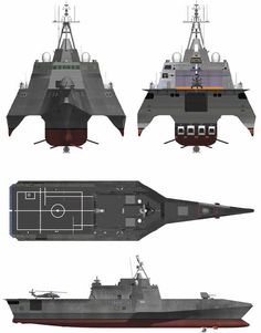 USS Independence Class Littoral Combat Ship - LCS-2 Configuration