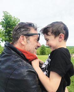 "jeffrey-daddy-morgan: "" Hilarie Burton: Jeffrey Dean Morgan. You are so many things to so many people. And I love the kindness you generously share with the people you cross paths with. But to Gus and..."