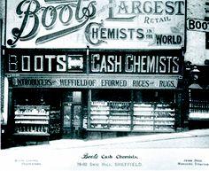 Snig Hill store, Sheffield. c1890 #socialsheffield #sheffield