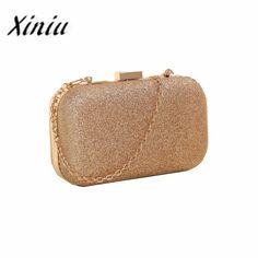 $8.27 (Buy here: https://alitems.com/g/1e8d114494ebda23ff8b16525dc3e8/?i=5&ulp=https%3A%2F%2Fwww.aliexpress.com%2Fitem%2FFashion-Women-Clutch-Box-Evening-Party-Glitter-Chain-women-bag-luxury-brand-Hand-Bags%2F32465234171.html ) Xiniu women messenger bags small crystal handbag evening chain bag Evening Party Banquet girls shoulder bags bolsos mujer #YHES for just $8.27