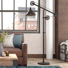 New bedroom design industrial floors Ideas Swing Arm Floor Lamp, Led Floor Lamp, Cool Floor Lamps, Carlisle, Industrial Floor Lamps, Industrial Style, New Bedroom Design, Bedroom Inspo, Torchiere Floor Lamp