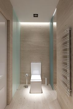60 Photos of minimalist decoration – beautiful environments - Decoration, Architecture, Construction, Furniture and decoration, Home Deco Bathroom Spa, Bathroom Interior, Modern Bathroom, Stone Bathroom, Minimalist Decor, Minimalist Design, Modern Design, Minimalist Photos, Design Industrial