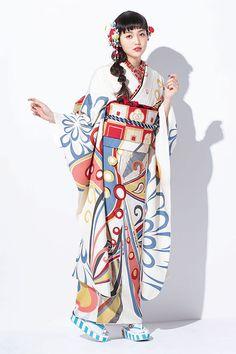 おすすめ振袖コレクション(ちぃぽぽ・みちょぱオリジナル振袖)|振袖レンタル・販売オンディーヌ 公式サイト Male Kimono, Yukata Kimono, Kimono Japan, Kimono Outfit, Japanese Kimono, Kimono Fashion, Japanese Uniform, Japanese Outfits, Traditional Fashion