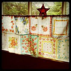 hankie curtain