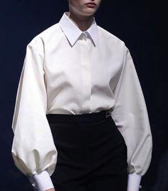 White blouse lanvin