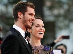 Watch Andrew Garfield hilariously tell Claire Foy that he's never seen 'The Crown' - HarpersBAZAARUK