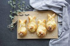 Hefegebäck zu Ostern – Osterhase Pretzel Bites, Sweets, Bread, Meals, Recipes, Blog, Random, Instagram, Google