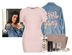 """""""ootd// anyone wanna hang out!! - grins - - Mehek"""" by clxudynxw ❤ liked on Polyvore featuring beauty, High Heels Suicide, MICHAEL Michael Kors, Motel, Aquazzura, MAC Cosmetics, Miss Selfridge and H&M"""
