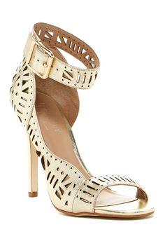 Nicole Miller Bali Ankle Strap Heeled Sandal $48.00