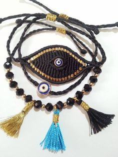 Image result for evil eye bracelet
