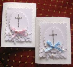 Twin Baptism by APandi - Cards and Paper Crafts at Splitcoaststampers