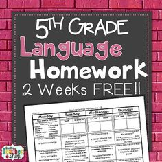 Language   th grades and Common cores on Pinterest Pinterest
