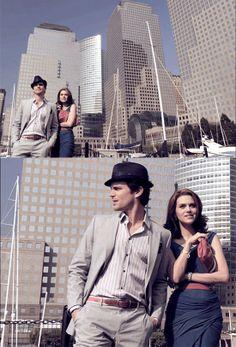 Neal Caffrey and Sara Ellis | White Collar
