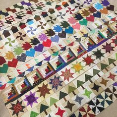 We have rows...✂️ #qmbittyblocks @quiltmakermag #bittyblocks #quilt #scrapquilt #sewmystash2016