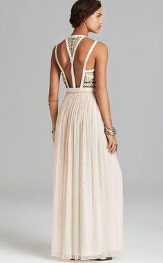 42912ee104c0d Free People Maxi Dress - Golden Chalice Bloomingdale s Free People Maxi  Dress