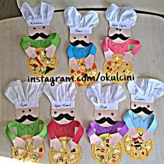 Chef craft idea for kids – Crafts and Worksheets for Preschool,Toddler and Kindergarten Preschool Food Crafts, Bible Crafts For Kids, Preschool Projects, Daycare Crafts, Toddler Crafts, Preschool Activities, Projects For Kids, Art For Kids, Community Helpers Crafts