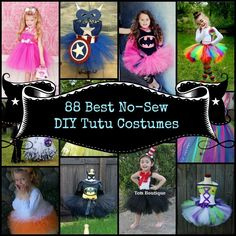 tutu costume collage