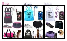 """""""Work out clothes for me and my cousins"""" by mikaela-madrid ❤ liked on Polyvore featuring Ken Paves, Kate Spade, NIKE, Disney, Victoria's Secret PINK, adidas, ZAK, Under Armour, Skullcandy and Tzumi"""