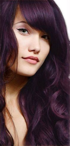 Break out of your comfort zone and try a different color. Why not a dark shade of purple? It'll make your hair shine as it hits the light.  #southsalon #makatisalon #bestsalon #teamsouthsalon #awesome #life