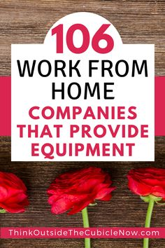 These work from home companies will provide a computer when you're hired. Work From Home Companies, Work From Home Tips, Earn Money From Home, Way To Make Money, Online Jobs For Moms, Travel Jobs, Making Extra Cash, Ways To Save, Extra Money