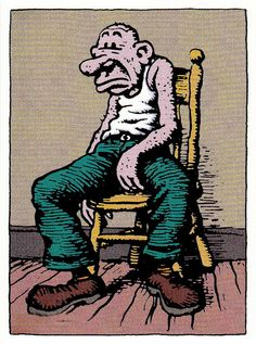 The Old Pooperoo aka Cosmic Shit Shoveler by Robert Crumb (underground comics)