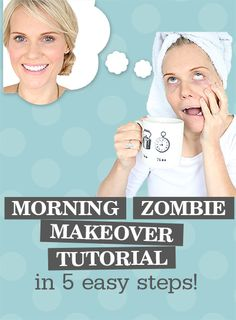 Do you need a quick and easy, everyday make up tutorial? I can tell you, my morning zombie face is never a good look! (Well maybe for a Halloween party!) CLICK this pin NOW to discover my step-by-step tutorial, as well as all my hand picked must haves! #MakeUp #MakeUpTutorial #MakeUpArtist #Makeover #MakeUpArtistTips