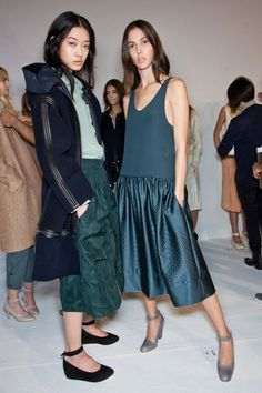 Chloé at Paris Fall 2012 (Backstage)