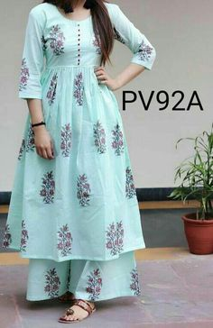Fashion Classy Summer Blue 62 Ideas Source by sonamunde dresses classy Simple Kurti Designs, Salwar Designs, Kurti Neck Designs, Kurta Designs Women, Dress Neck Designs, Kurti Designs Party Wear, Chudidhar Neck Designs, Kurti Sleeves Design, Frock Fashion
