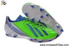 Buy Discount Green Blue Blue Adidas F50 adizero TRX FG FG Football Shoes Shop