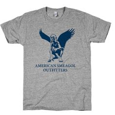 American Smeagol - Lord of the Rings / The Hobbit fashion Shirt.