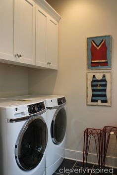 farmhouse laundry room @cleverlyinspired (3)