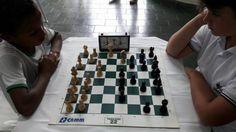 Polícia Militar de Frual realizou torneio de Xadrez | Alô Frutal - Fique sabendo!