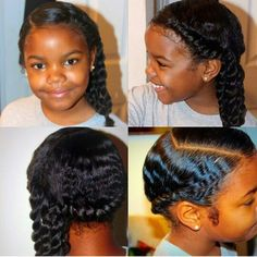 @arielle_diva is a cutie pie and I'm gonna copy her hairstyle!!  #Naturalhair #naturalkids
