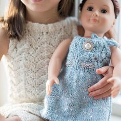 Paelas miniklassikere 2 til dukke/ Paelas Doll Knits 2 (Norwegian and English version)